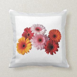 Flower Garden - Gerber Daisies Pillow