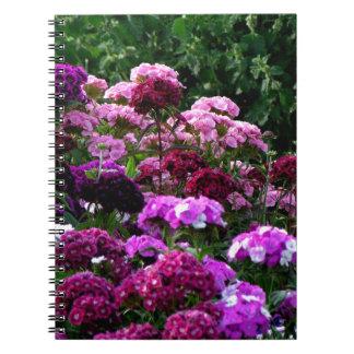 Flower Garden in summer Notebooks