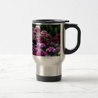 Flower Garden in summer Travel Mug