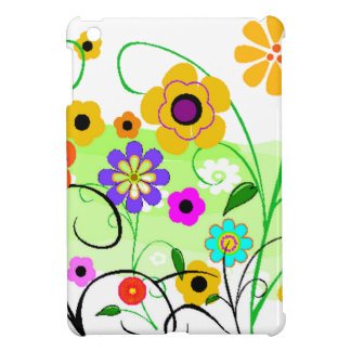 Flower Garden iPad Mini Cases