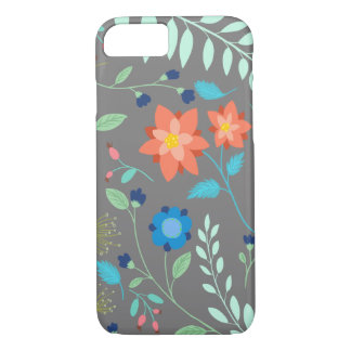"""""""Flower Garden"""" iPhone 7, Barely There iPhone 7 Case"""