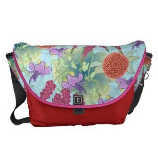 Flower Garden Messenger Bag