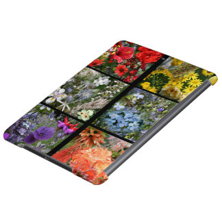 Flower Garden Photo Collage iPad Air Cover