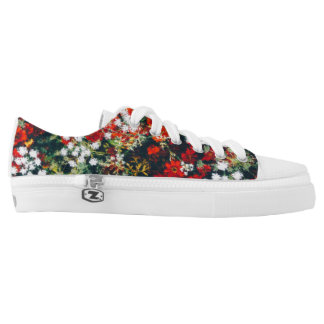 Flower Garden Printed Shoes