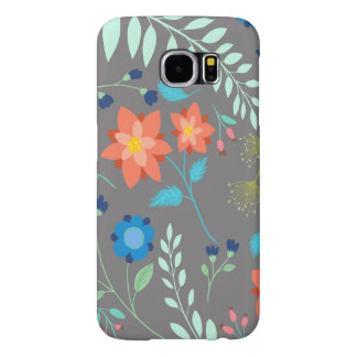 """Flower Garden"" Samsung Galaxy S6, Barely There Samsung Galaxy S6 Cases"