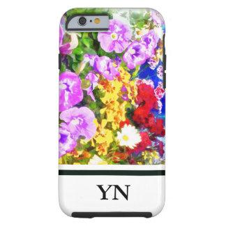 Flower Garden Tough iPhone 6 Case