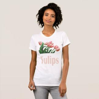 Flower Garden - Tulips, Women's V T-Shirt