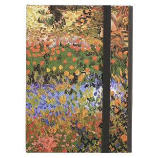 Flower Garden,Vincent van Gogh. iPad Cases