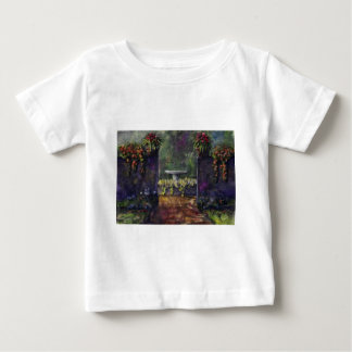 Flower garden wall baby T-Shirt