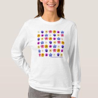 Flower Garden women's tee shirt