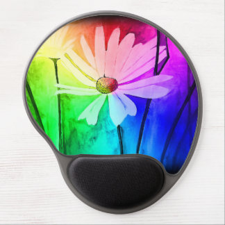 Flower Gel Mouse Pad (Change Color in Customize!)