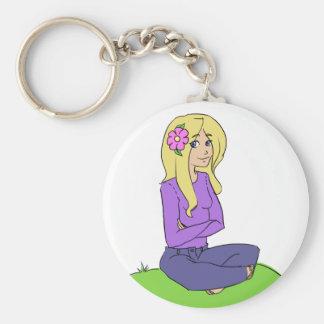 Flower Girl 2.0 Key Chain