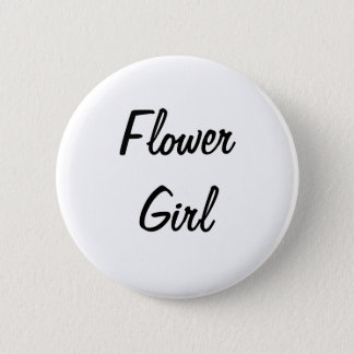 Flower Girl Badge