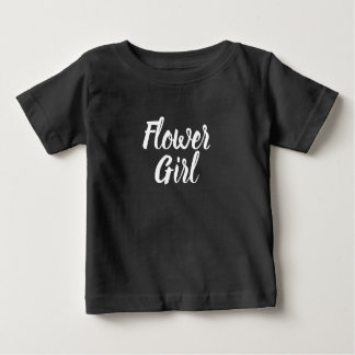 Flower Girl Bridal Party Baby T-Shirt