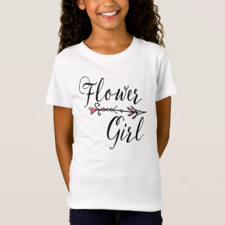 Flower Girl Bride Tribe | T-shirt
