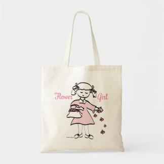 Flower Girl Budget Tote Bag