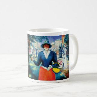Flower Girl by Kazimir Malevich Coffee Mug