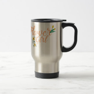Flower Girl Cute Bridesmaid Travel Mug