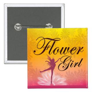 Flower Girl Dancing Fairy Pins
