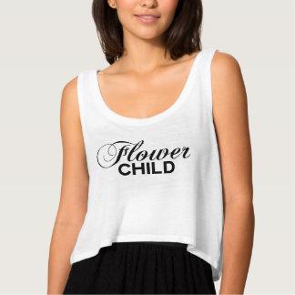 Flower Girl Flowy Crop Tank Top