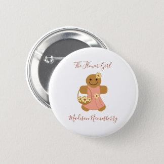 Flower Girl Gingerbread | Button