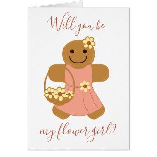 Flower Girl Gingerbread | Card