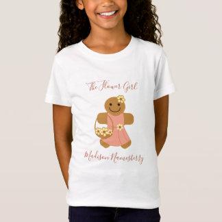 Flower Girl Gingerbread | Girls tshirt