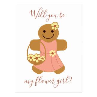 Flower Girl Gingerbread | Postcard