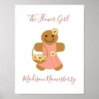 Flower Girl Gingerbread | Poster