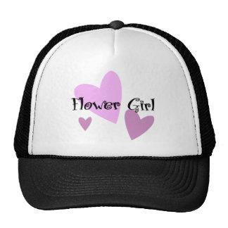 Flower Girl Trucker Hats