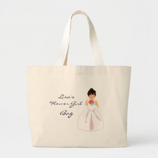 """Flower Girl I"" Bag - Customizable Canvas Bags"