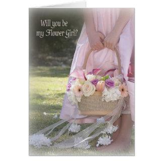 Flower Girl Invitation