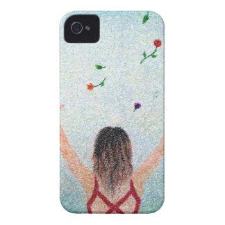 Flower Girl iPhone 4 Cases