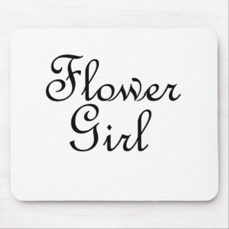 Flower Girl Mouse Pads