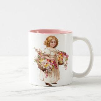 Flower Girl Coffee Mugs