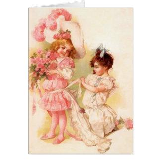 Flower Girl Note Cards