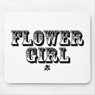 Flower Girl - Old West Mouse Pad
