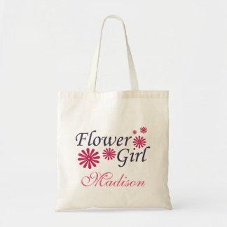 Flower Girl Personalised Tote Bag