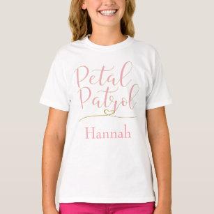 3fa051e8d7c Flower Girl Petal Patrol Personalize T-Shirt