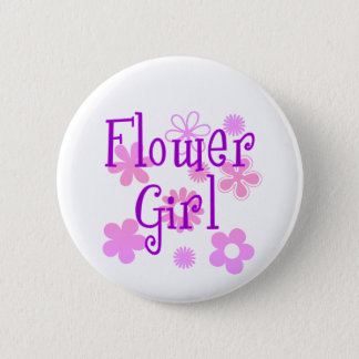 Flower Girl Products 6 Cm Round Badge