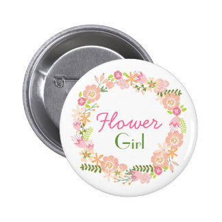 Flower Girl Rehearsal Button