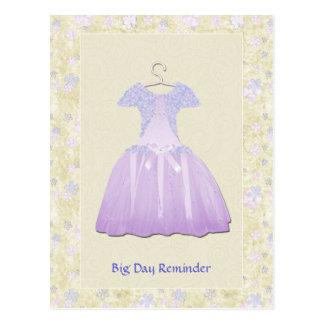 Flower Girl Spring time Post Card