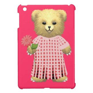 Flower girl Teddy Bear iPad Mini Covers