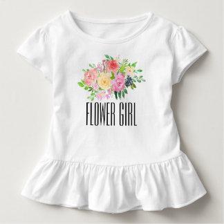 Flower Girl Toddler Tee Kids Flower Girl T-shirt