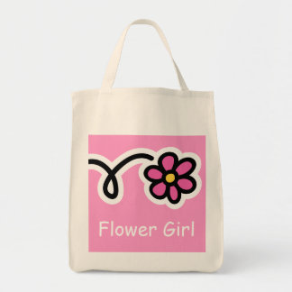 Flower Girl Tote Bag For Weddings