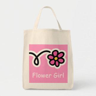 Flower Girl Tote Bag For Weddings