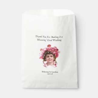 Flower Girl VINTAGE WEDDING FAVOR Personalise Favour Bag