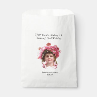 Flower Girl VINTAGE WEDDING FAVOR Personalise Favour Bags