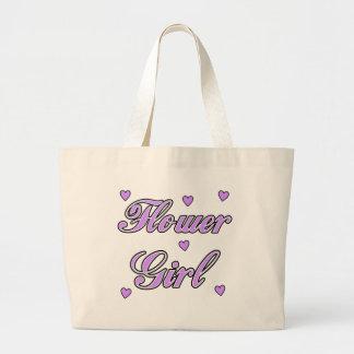 Flower Girl Wedding Hearts Bag