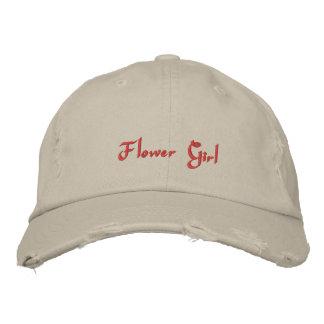 Flower Girl Wedding Party Embroidered cap Baseball Cap